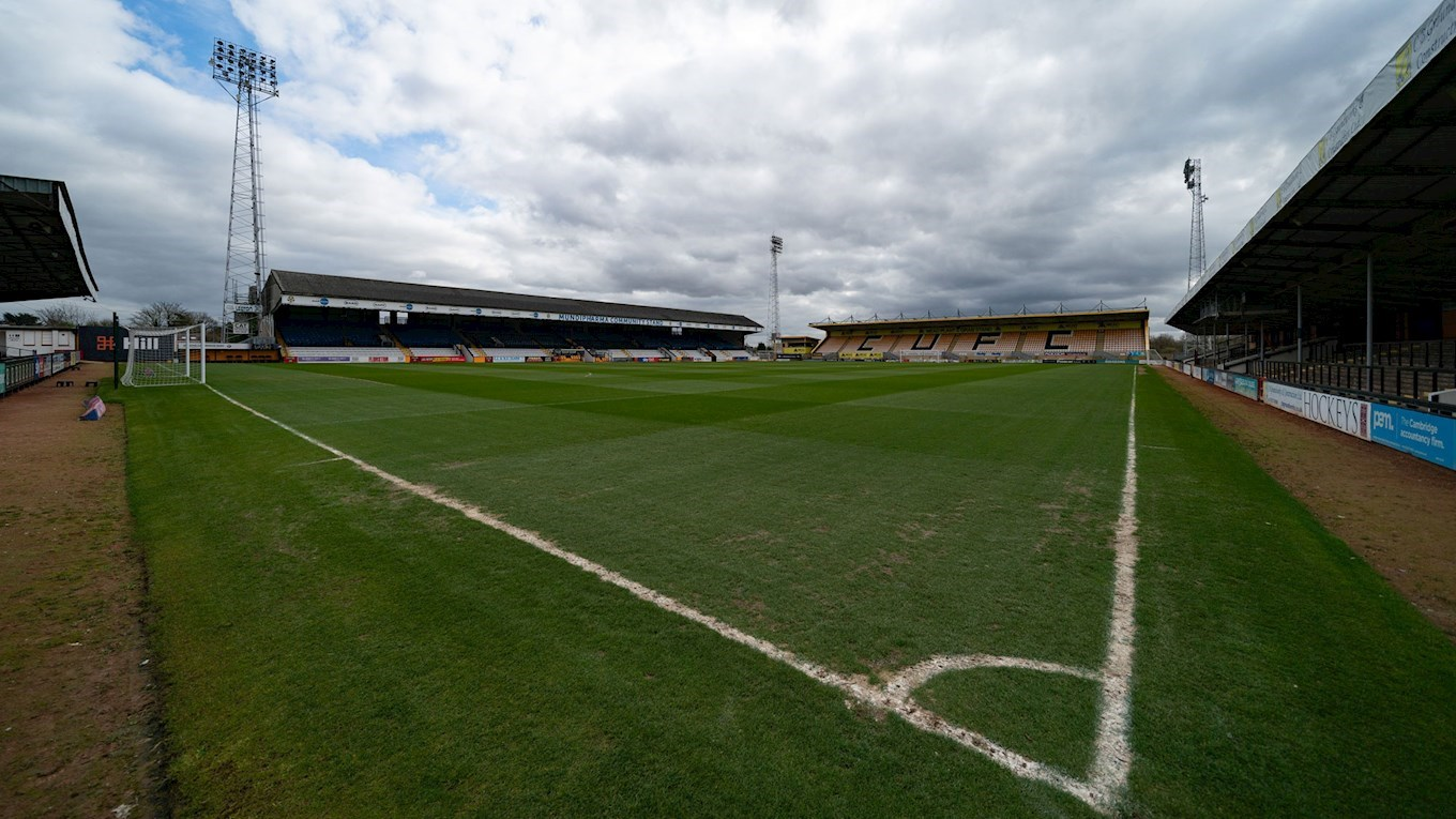 A photo of The Abbey Stadium