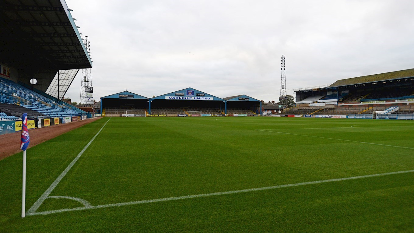 A photo of Brunton Park