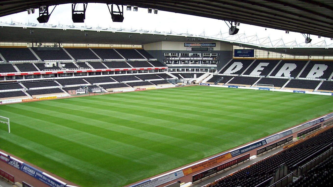 A photo of Pride Park
