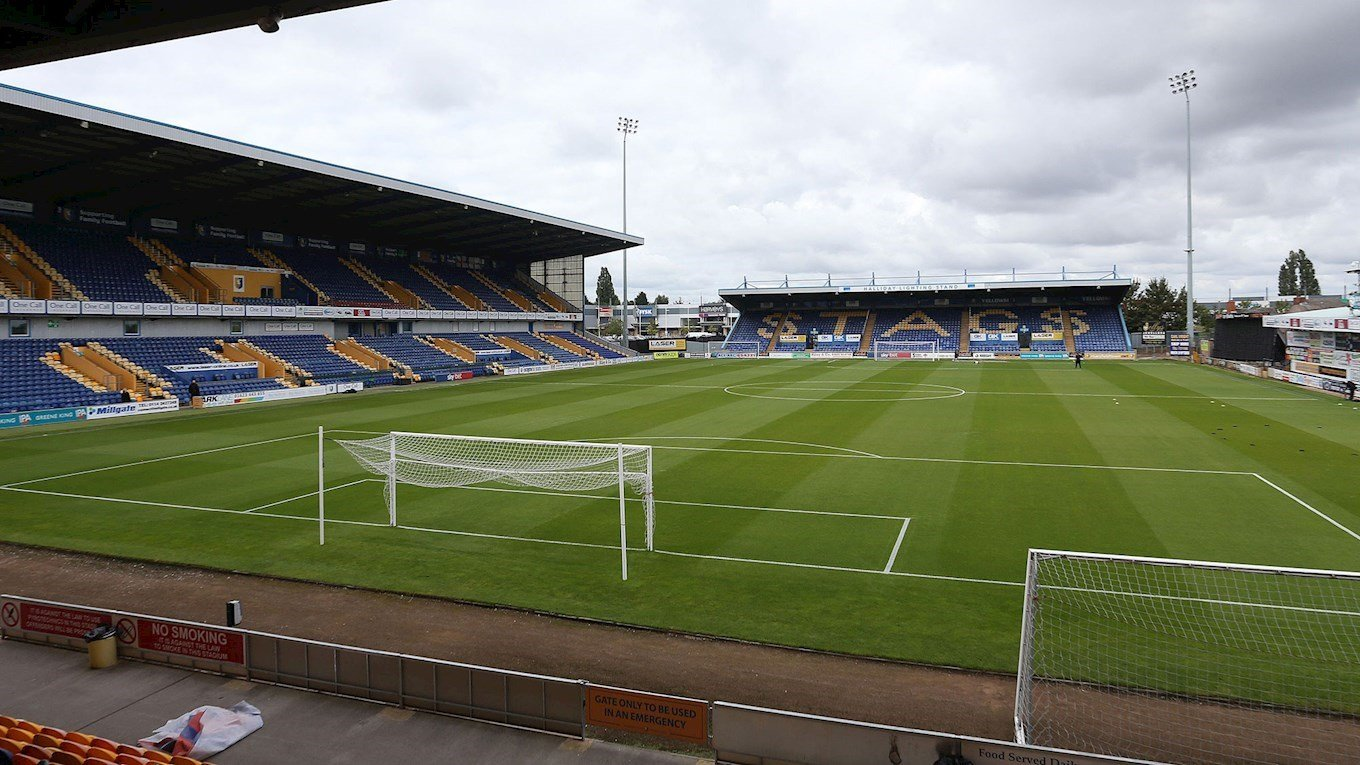 A photo of Mansfield Town's stadium