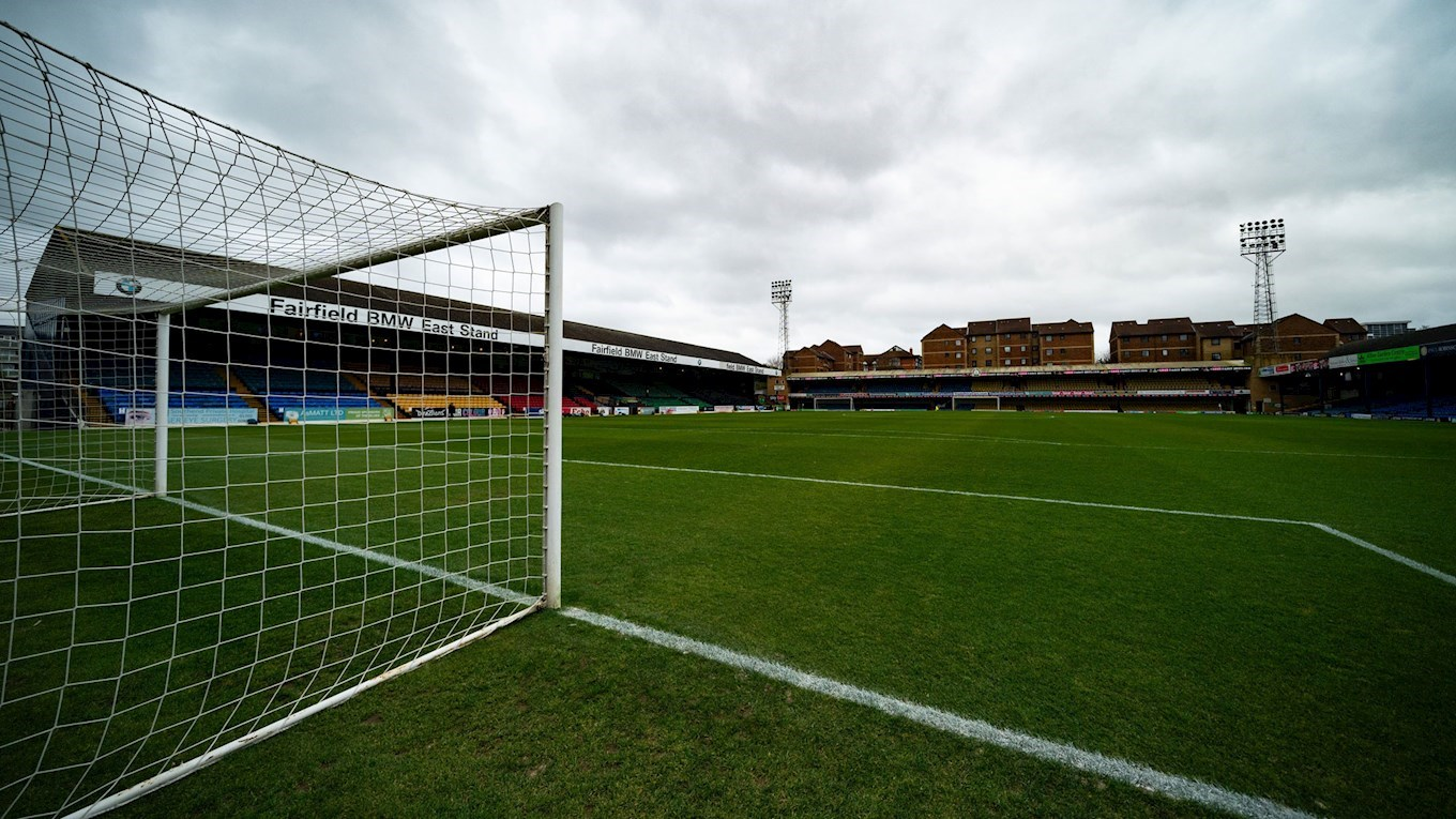 A photograph of Southend United's stadium