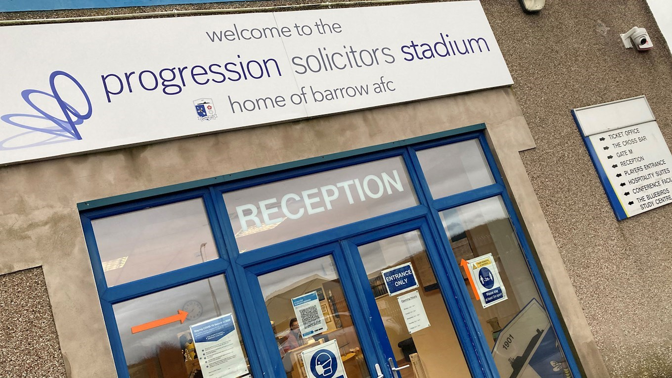 A photo of The Progression Solicitors Stadium