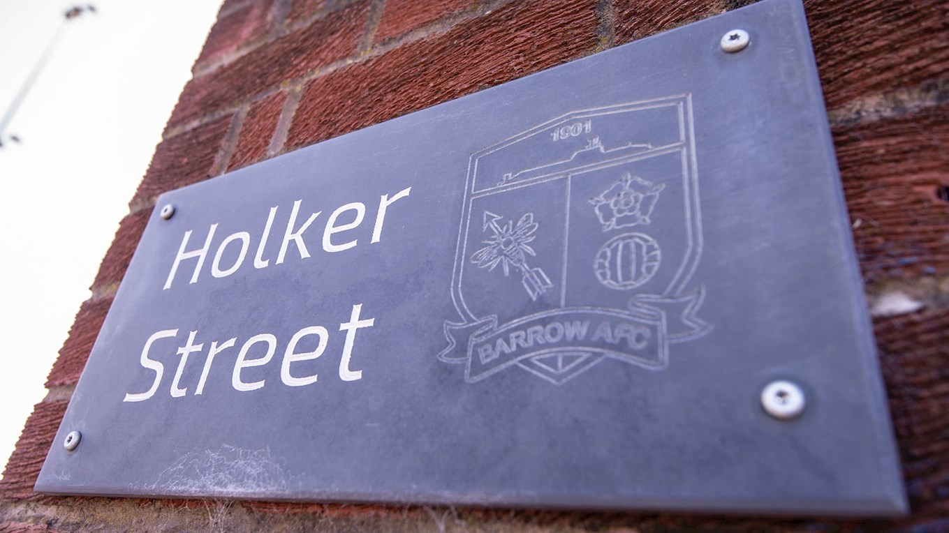 Photo of the Holker Street sign