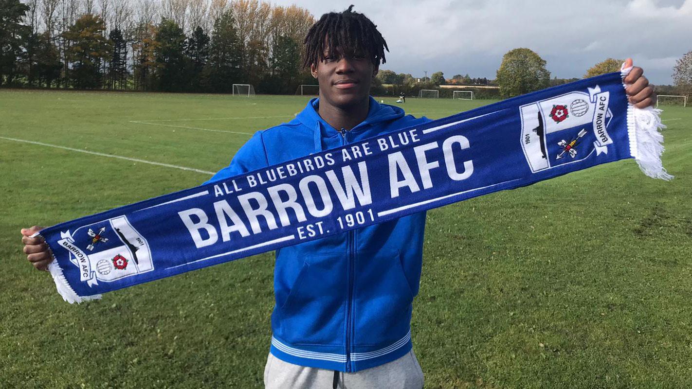 Barrow Complete Signing Of Dimitri Sea - News - Barrow Association Football  Club